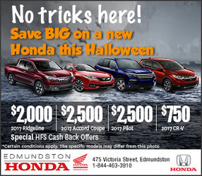 Save on a New Honda this Halloween (Homepage)