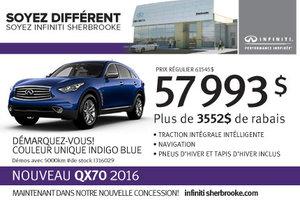 Infiniti QX70 AWD 2016 en rabais