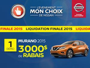 Liquidation de Murano 2015 !