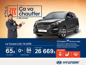 L'événement ÇA VA CHAUFFER chez Hyundai avec le Tucson