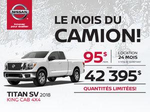 Le Titan SV Premium 2018 King Cab 4x4 !