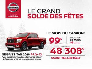 Le Titan PRO 4-X Cabine double 2018