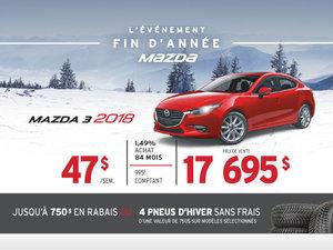 L'ÉVÉNEMENT FIN D'ANNÉE AU GROUPE BEAUCAGE MAZDA - MAZDA3!