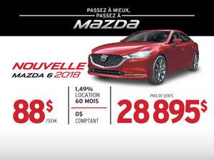 PASSEZ À MIEUX – PASSEZ AU GROUPE BEAUCAGE MAZDA avec la Mazda6 2018