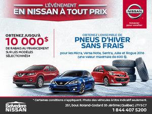 L'événement en Nissan à tout prix