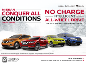 Nissan Conquer All Conditions Sales Event