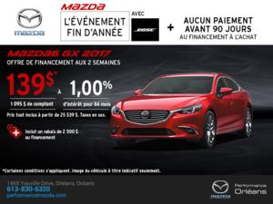 Obtenez la Mazda6 2017 aujourd'hui! chez Performance Mazda à Ottawa