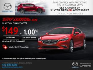 Big Savings on the 2017 Mazda6!
