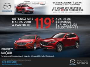L'événement Conduite hivernale i-ACTIV Mazda chez Performance Mazda à Ottawa