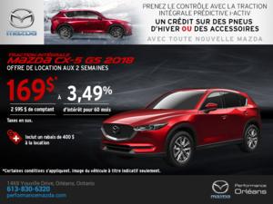 Obtenez la Mazda CX-5 2018 aujourd'hui! chez Performance Mazda à Ottawa