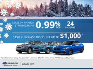 Subaru Monthly Event!