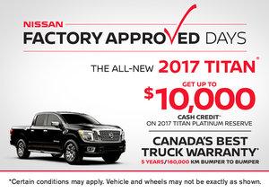 2017 Nissan Titan at Morrey Nissan