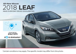 The All-New 2018 Nissan Leaf