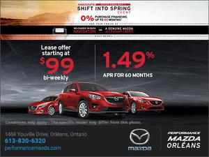 Mazda's Shift Intro Spring Event!