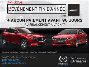 L'événement fin d'année chez Performance Mazda à Ottawa