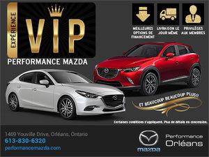 Performance Mazda VIP Expèrience chez Performance Mazda à Ottawa