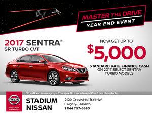 Save on the New 2017 Nissan Sentra SR Turbo