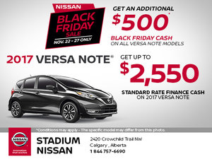 Black Friday Sale - Versa Note