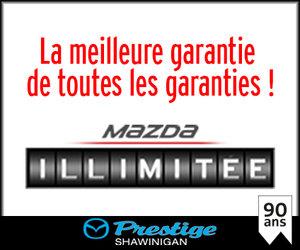 Garantie Mazda illimitée : roulez autant que vous le voulez ! chez Groupe Vincent à Shawinigan et Trois-Rivières
