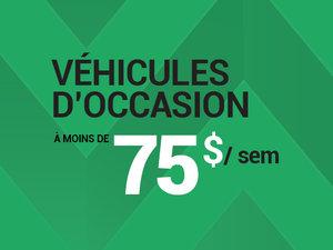 Véhicules d'occasion pour budgets de 75$ par semaine... chez Groupe Vincent à Shawinigan et Trois-Rivières