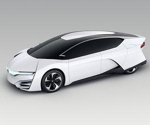 Honda lance le concept FCEV au Salon de l'auto de Los Angeles