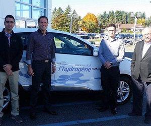 Un premier client pour le Hyundai Tucson FuelCell!