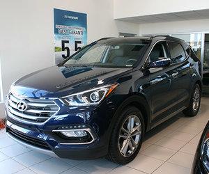Nouveau Hyundai Santa Fe Sport 2017 : sécuritaire, confo et technologique!