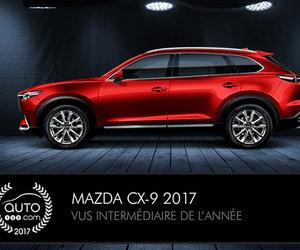 Mazda MX-5 et CX-9 consacrés #1 au Prix Auto123.com!