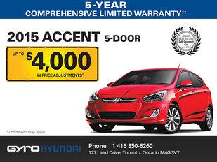 2015 Hyundai Accent in Toronto