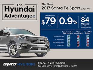 Save on the 2017 Hyundai Santa Fe Sport in Toronto