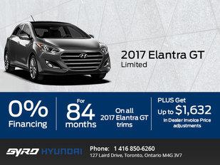 Get the All-New 2017 Hyundai Elantra GT Limited!