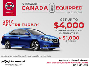 Save on the 2017 Nissan Sentra Turbo