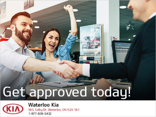 Get Approved for Credit Today with Waterloo Kia!