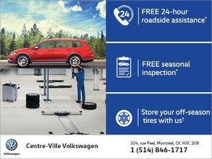 Volkswagen Spring Service Offer