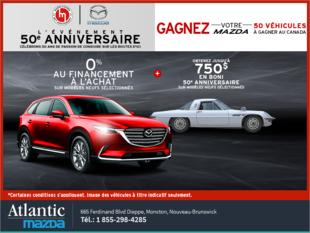 L'événement 50e anniversaire de Mazda !