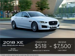 The 2018 Jaguar XE Premium 25t AWD