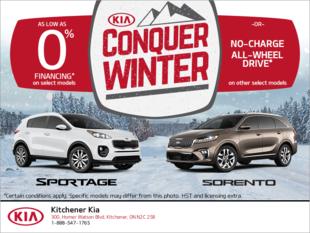 Kia Conquer Winter