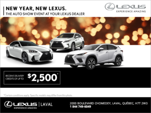 New Year, New Lexus.