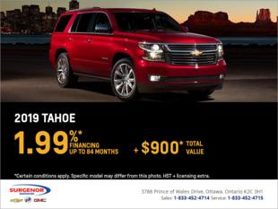 Finance the 2019 Chevrolet Tahoe