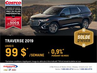 Louez le Chevrolet Traverse 2019