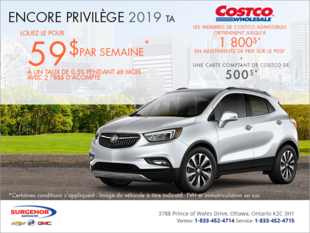 Louez le Buick Encore 2019