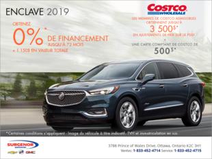 Procurez-vous le Buick Enclave 2019