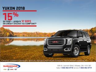 Le GMC Yukon 2018