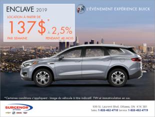 Louez le Buick Enclave 2019