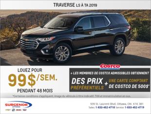 Obtenez le Chevrolet Traverse 2019