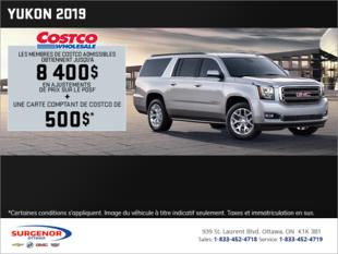 Le GMC Yukon 2019