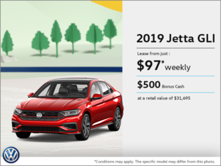 Get the 2019 Jetta GLI