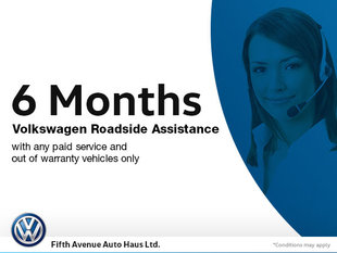 6 Months' Roadside Service with Any Paid Service