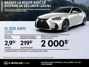 Lexus IS 300 2018 en rabais