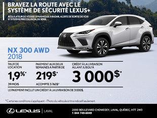 Lexus NX 2018 en rabais